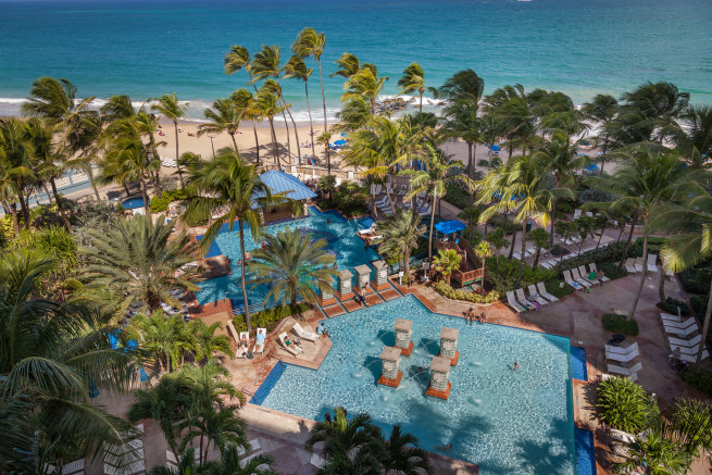san juan marriott resort & stellaris casino beach