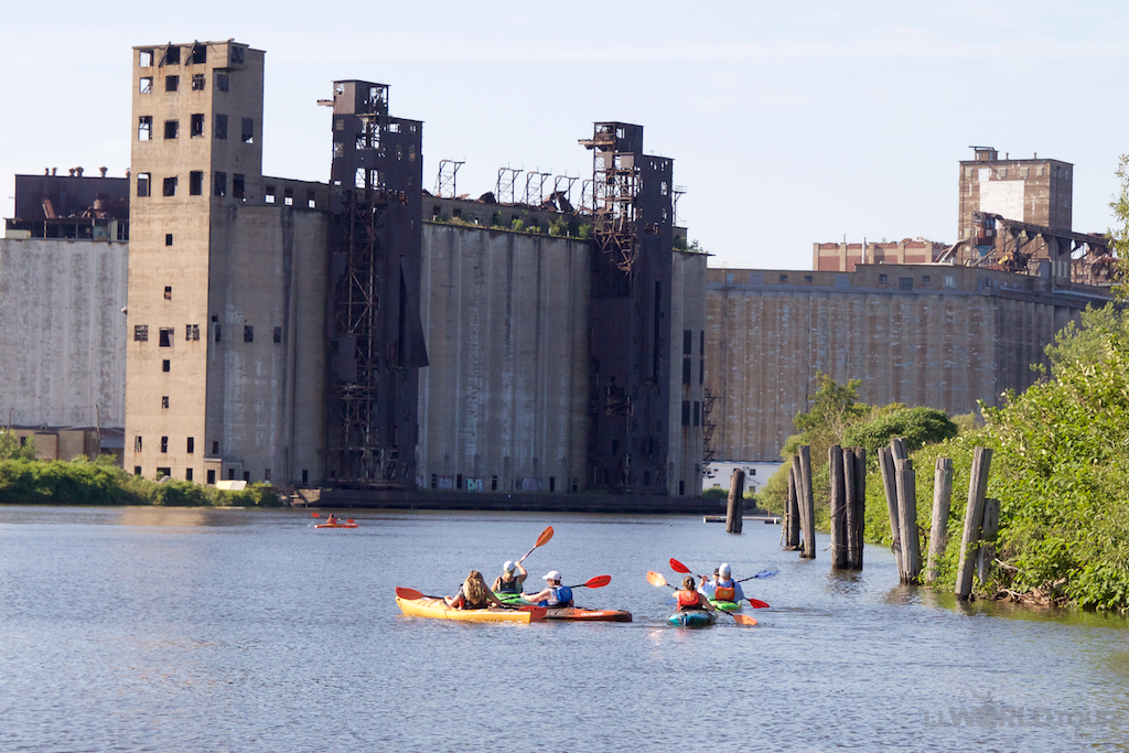 Kayaking in Buffalo