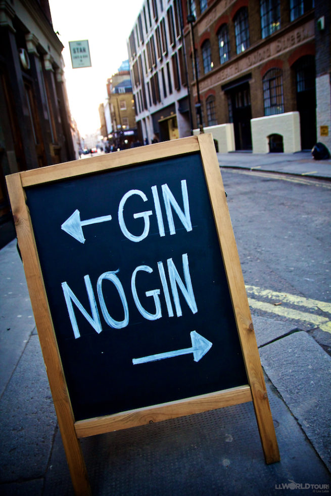 Where to drink Gin London