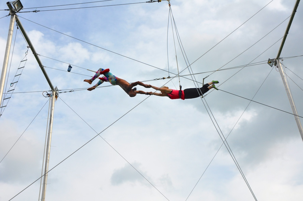 Trapeze - Unique things to do in Chicago