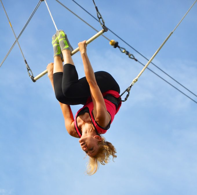 Lisa on Trapeze