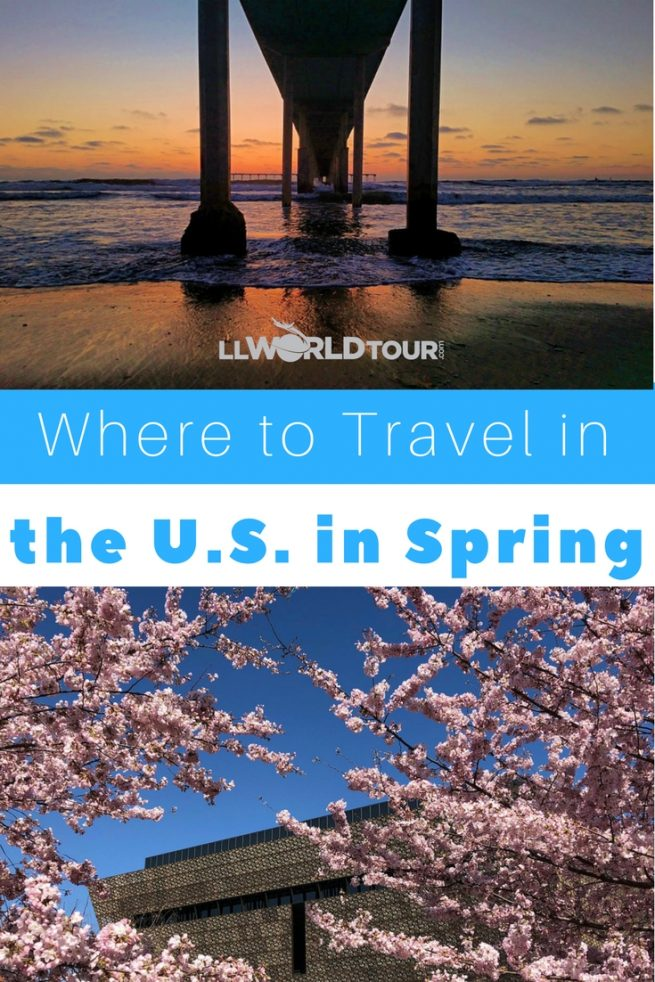 Where to travel in US in Spring