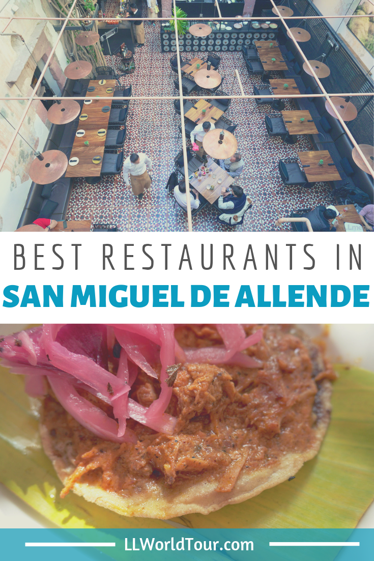 best restaurants in San Miguel de Allende