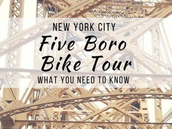 5 Boro Bike Tour