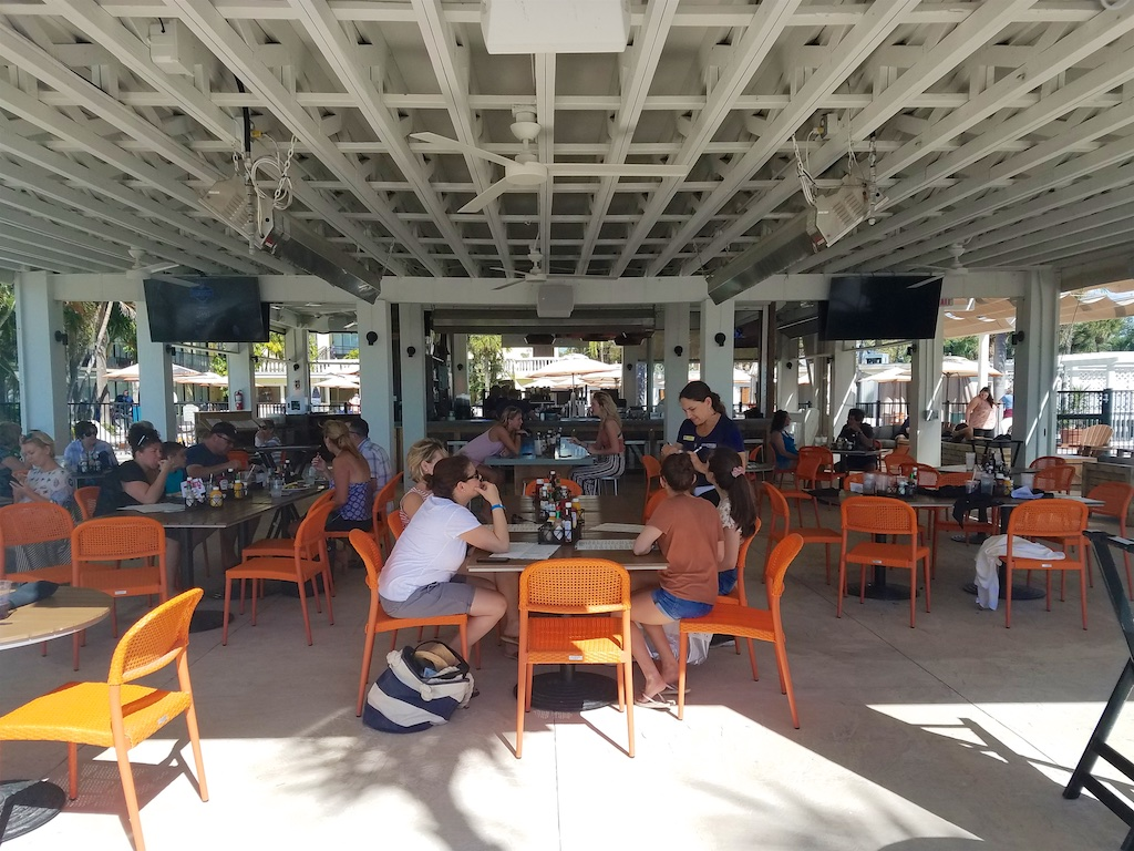 Sirata Beach Resort Restaurants