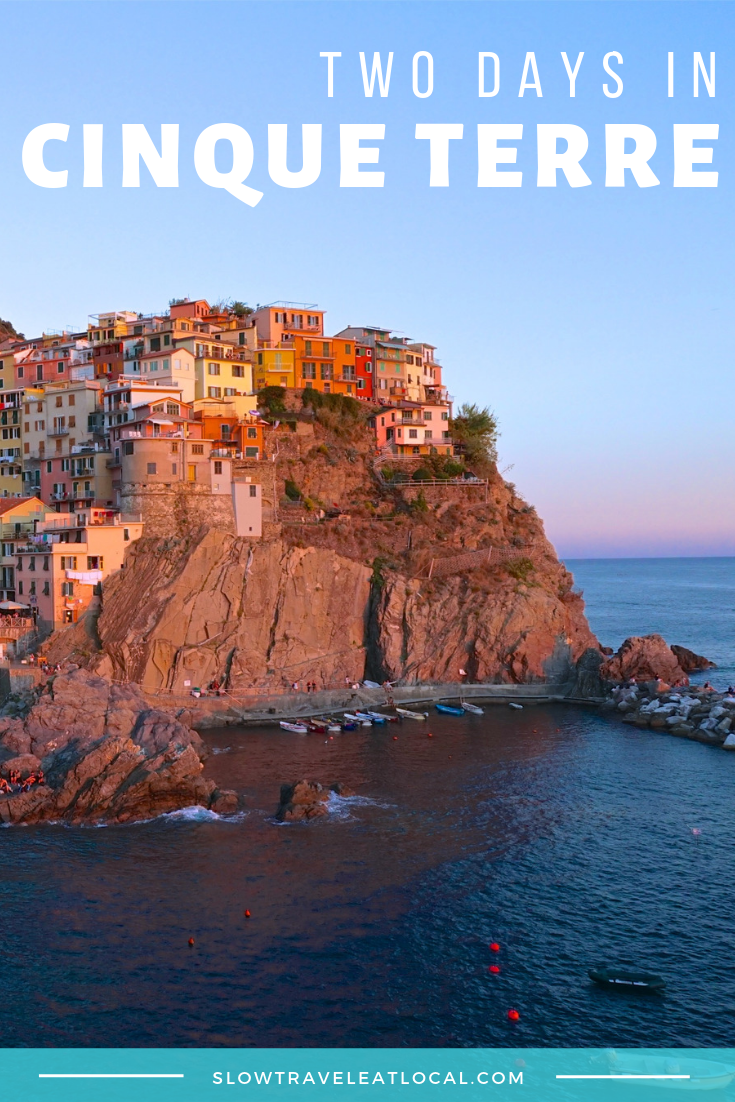 Two Days in Cinque Terre