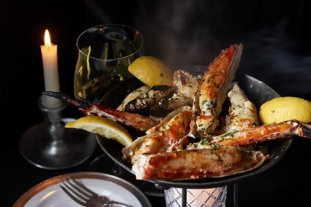 Fire Roasted Crab