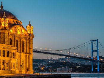 mosque and bridge istanbul