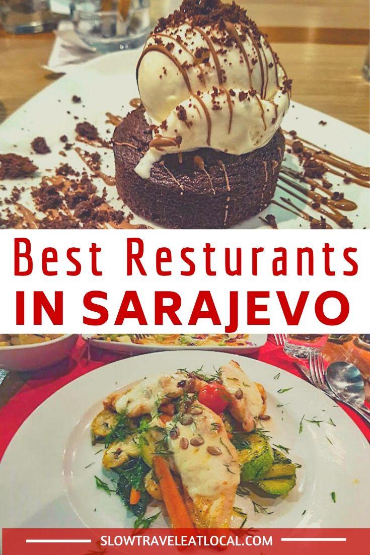 best restaurants in Sarajevo