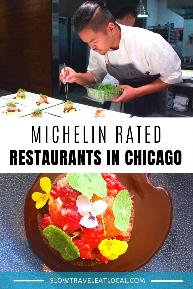 Michelin Rated Restaurants in Chicago
