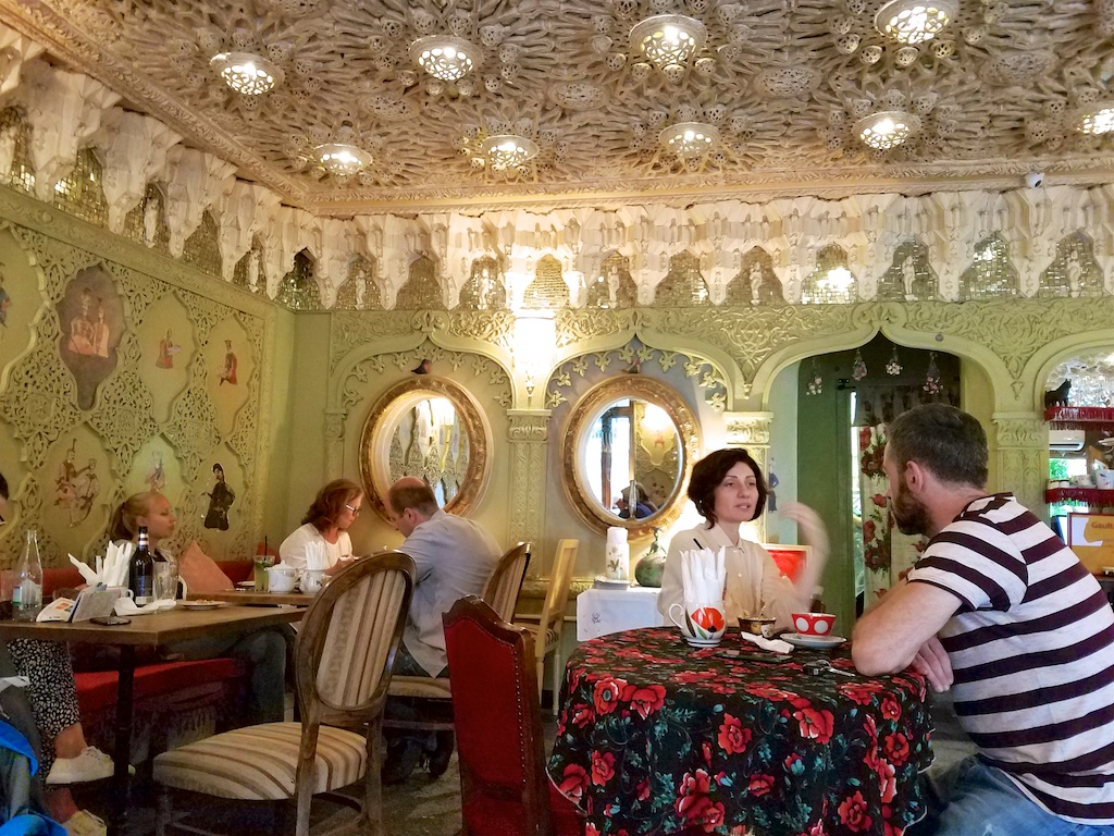 where to eat in Tbilisi - Leila cafe