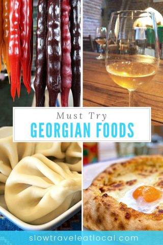 must try Georgian foods