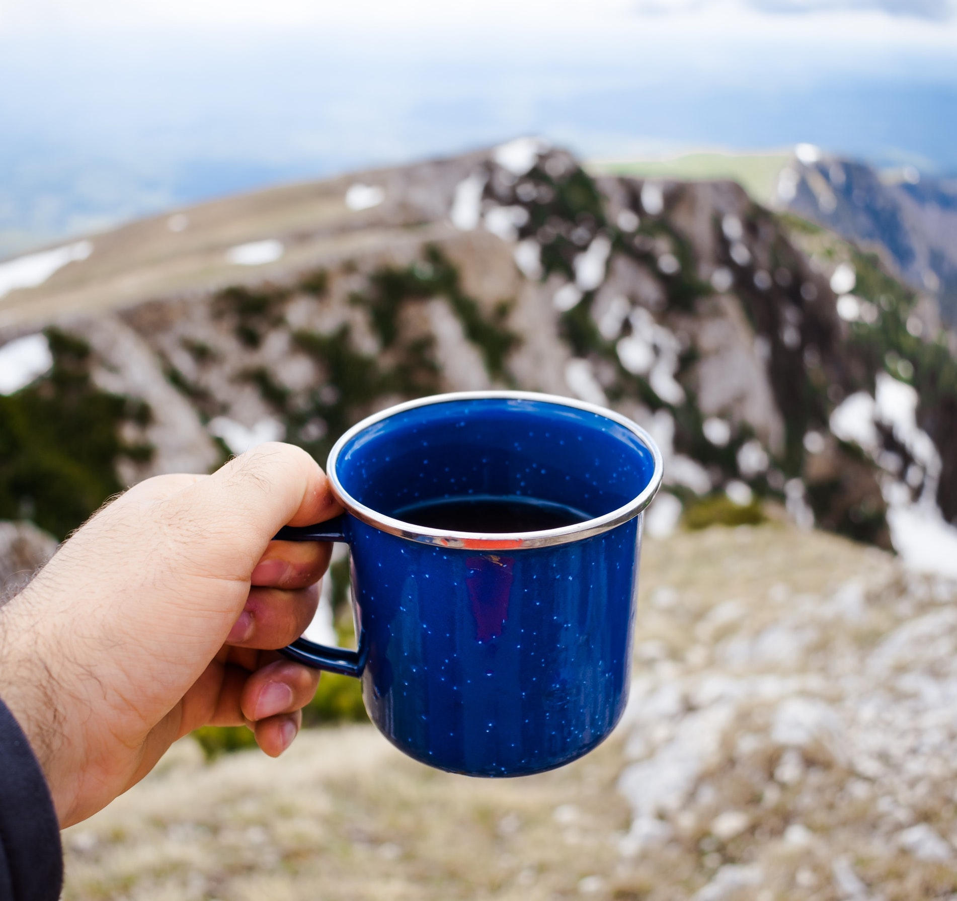coffee and mountains