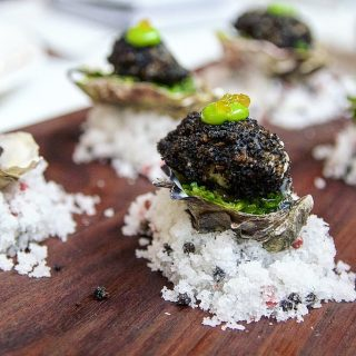 Do you eat oysters? Check out these fried oysters at Chicago's Portsmith at the bottom of the Dana Hotel & Spa.