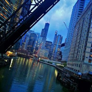 """SWIPE to see my beautiful city of Chicago. It's not """"on fire."""" It's not """"destroyed.""""  Did you know I left Chicago two months ago? It took me forever to finally publish this post! I'm not sure if it's because I was afraid that it would make my leaving Chicago feel more real or if I was just putting off the actual writing.  Either way…here it is! My final goodbye to my favorite city in the whole world—why I love it so much and what I will miss. ❤️ Link in bio.  I can't wait to visit!  If you've been to Chicago or live there...did I get it right? Can you relate?"""