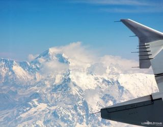 I miss travel! ✈️  This is a shot of Mt. Everest from my flight between Kathmandu and Bhutan a few years ago. Bhutan was probably my most exotic and interesting destination.  (I also got my first bout of food poisoning and was nearly gored by a yak on a hike in the mountains, but that's another story!).   I still get excited when I fly to new destinations, knowing that when I disembark the plane, the place will feel, smell, and look different.